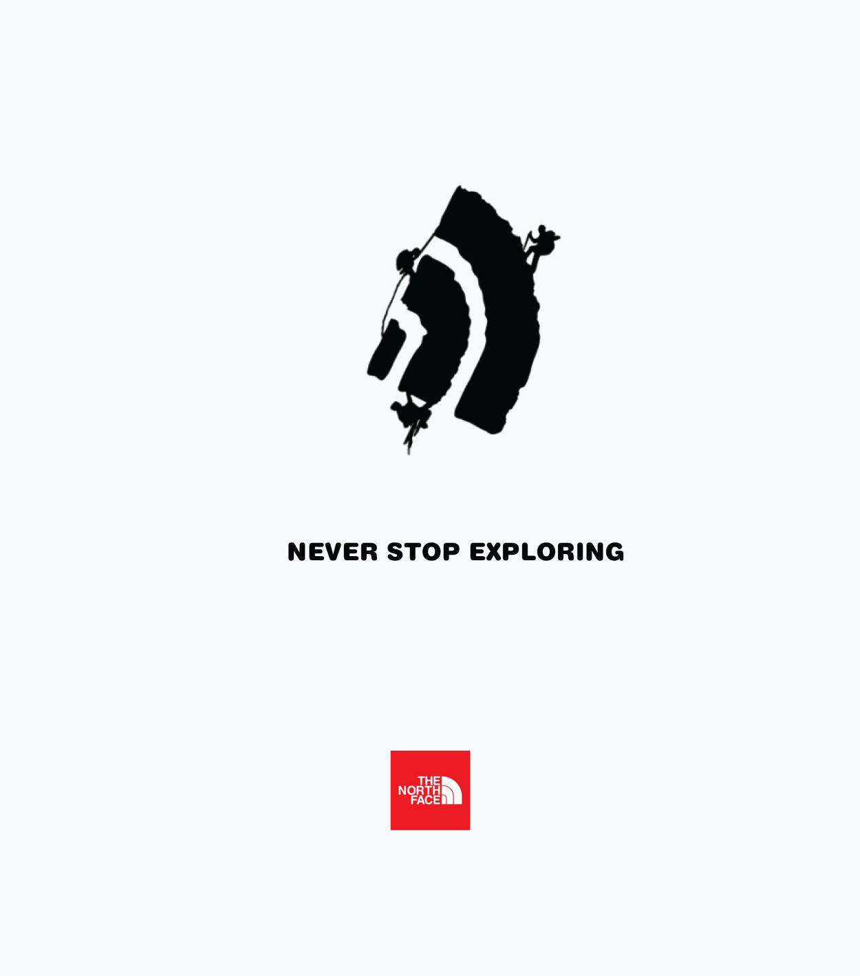 the north face graphic logo