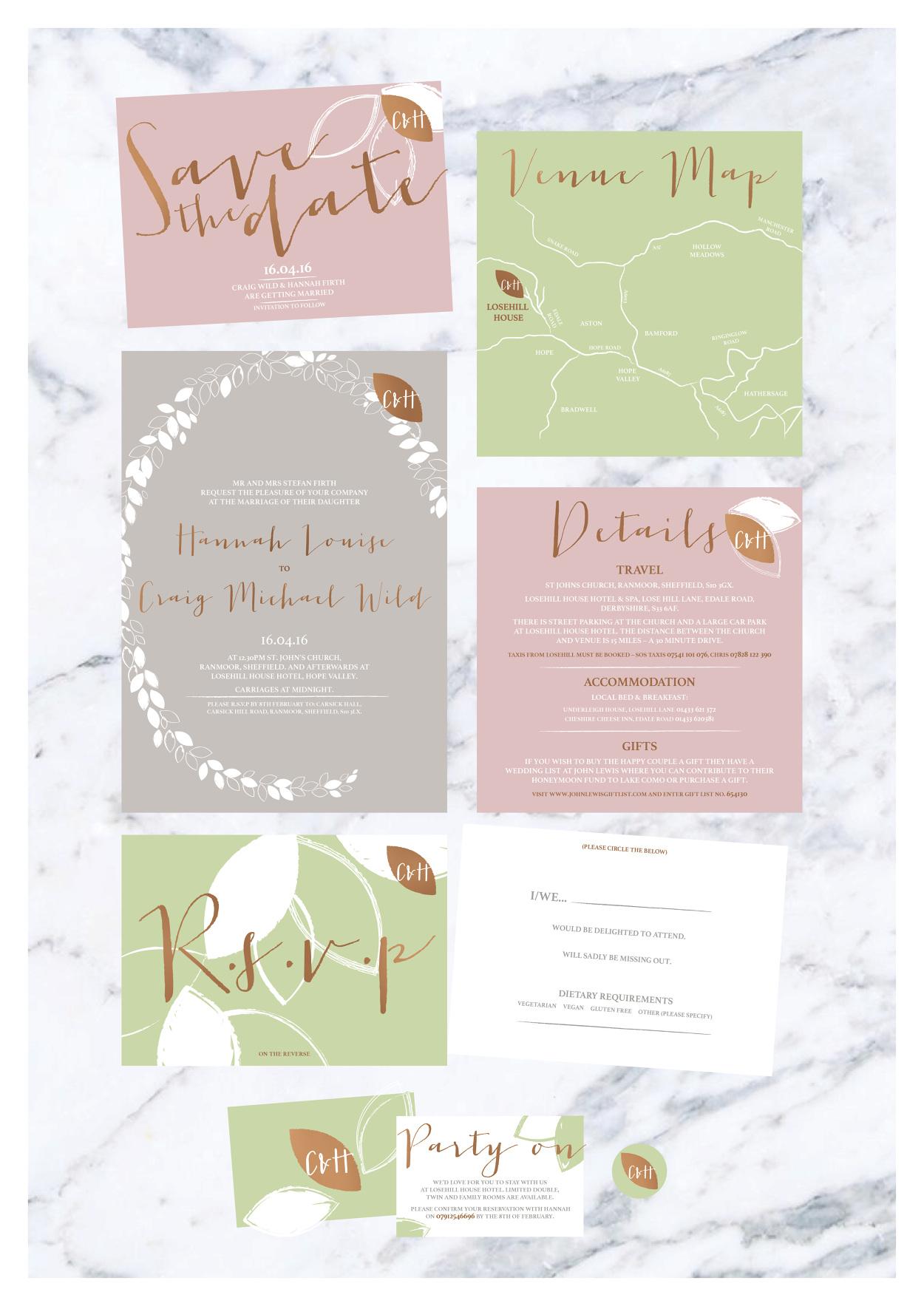 wedding stationary - designbyjoasia - Personal network